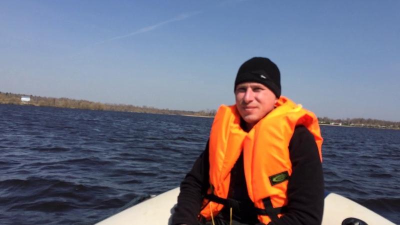 По ВВП на лодке ПВХ Из Конаково по р Волга и р Созь на Yamaran F410 и Yamaha 25bmhs