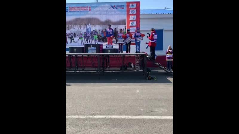 Маргарита Васильева на Аваченском марафоне