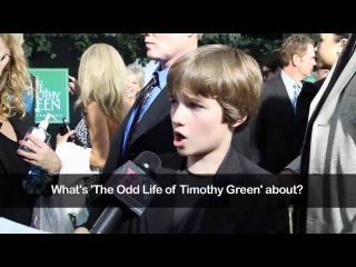 CJ Adams Interview 2012 - The Odd Life Of Timothy Green Premiere