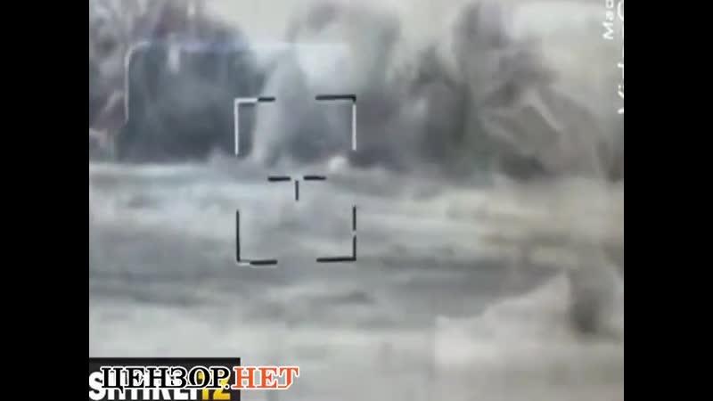 Украинские бойцы управляемой ракетой уничтожили БМП российских оккупантов на Донбассе.