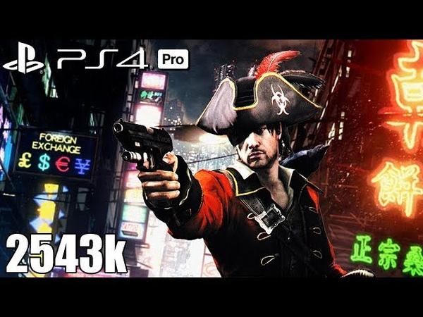 Resident Evil 6 PS4 Pro NO MERCY 2543k Urban Chaos Leon 60fps