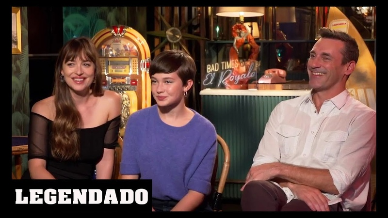 [LEGENDADO] Dakota Johnson, Cailee Spaeny e Jon Hamm - CinemaBlend
