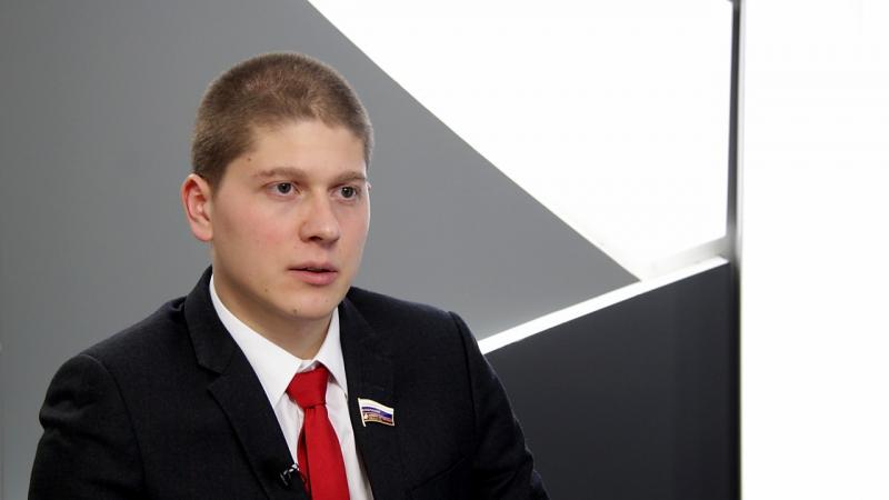 Депутат ЗСНО Никита Сорокин — об итогах регионального конкурса молодежных проектов «Россия — время молодых»