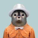 Интересный проект фотографа Яго Парталя. Так он видит животных в роли людей!
