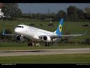 Полёт из аэропорта Минск в Борисполь на Embraer 190 UIA MSQ to KBP