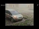 Severe wind and large hail in Krasnodar Russia october 2 2018