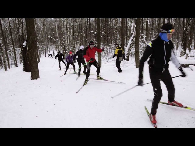 Беговые лыжи Урок 5 Лыжная тренировка Отработка приемов конькового хода