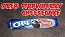 OREO Strawberry Cheesecake Печенье OREO cake Орео Клубника чизкейк Обзор
