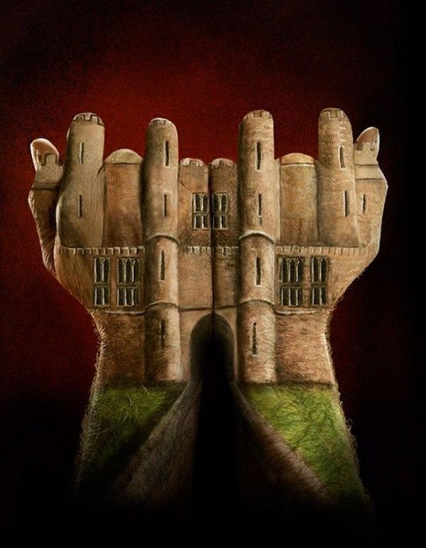 Бодиарт для рук в рекламной кампании Ecclesiastical Insurance / Реклама / Культ / МодноНемодно.ру