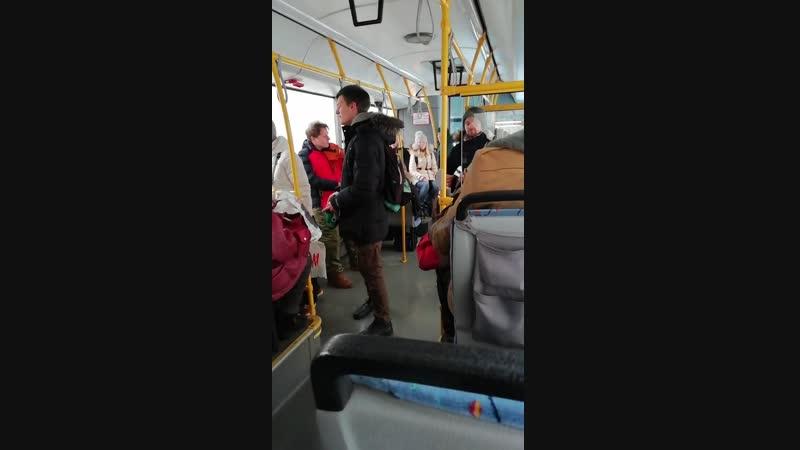 Едем в 3 автобусе. Нижний Новгород