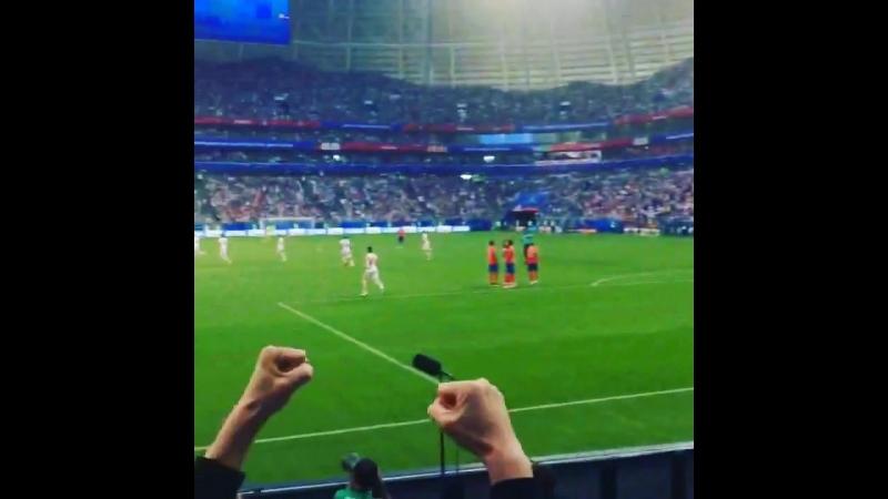 ЧМ2018. Коста-Рика-Сербия 0-1. Гол