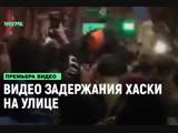 Видео задержания Хаски на улице [Рифмы и Панчи]
