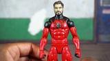 Hasbro Marvel Legends Spdr BAF wave SCARLET SPIDER Action Figures Review