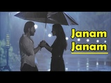 Janam Janam | Dilwale | Arijit Singh | Shah Rukh Khan | Kajol | Pritam | Lyrics Video Song