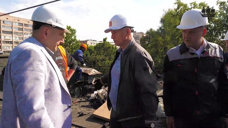 Объезд объектов капитального ремонта крыш