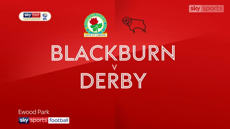 «Блэкберн Роверс» - «Дерби Каунти» 2:0 (Sky Sports)