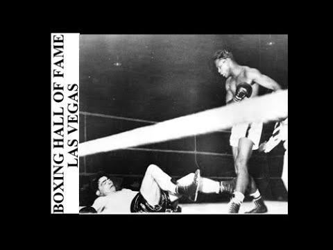 Sugar Ray Robinson Great KO vs Gene Stock This Day November 27 1950