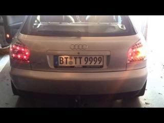 Klarglas-Rückleuchten für Audi A3 8L von 09.96-2004 Dectane RA01LLC LED Rückleuchten