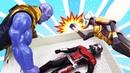 Человек Муравей и Оса! Супергерои в видео с игрушками.
