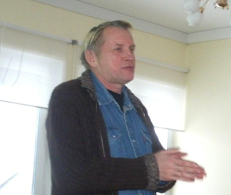 Олег Гаркуша в Доме надежды на Горе