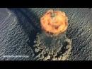 Взрыв атомной бомбы с высоты птичьего полёта