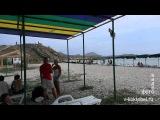 Нудисты Коктебель пляж после дождя