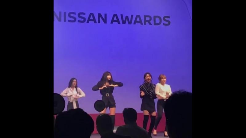 180419 20172018 Nissan Awards| Red Velvet - Rookie [Fancam]