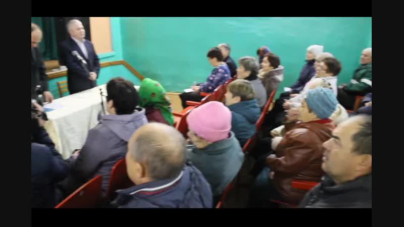 Проведение итогового собрания по ППМИ в СП Ахмановский сельсовет муниципального района Бакалинский район РБ в 2019 году.