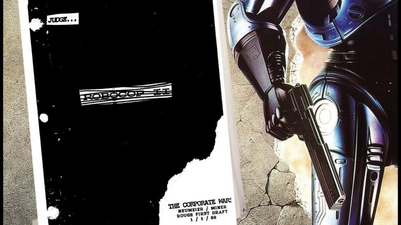 Robocop Робокоп 2 Фильм 1990 Год Внутреняя Ярость Робокоп Против Бандитов