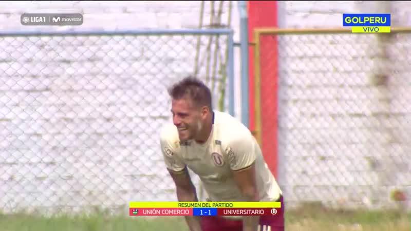 Видео обзор матча Унион Комерсио - Университарио