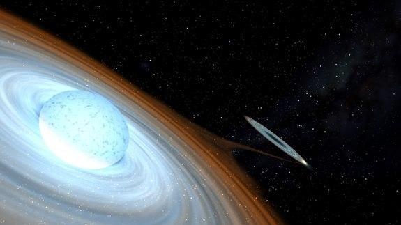 Нетипичная черная дыра VyzX7oaeZrc