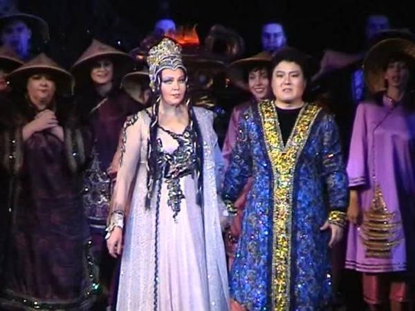 Puccini Turandot act III final il suo nome è amor O sole Vita Eternità