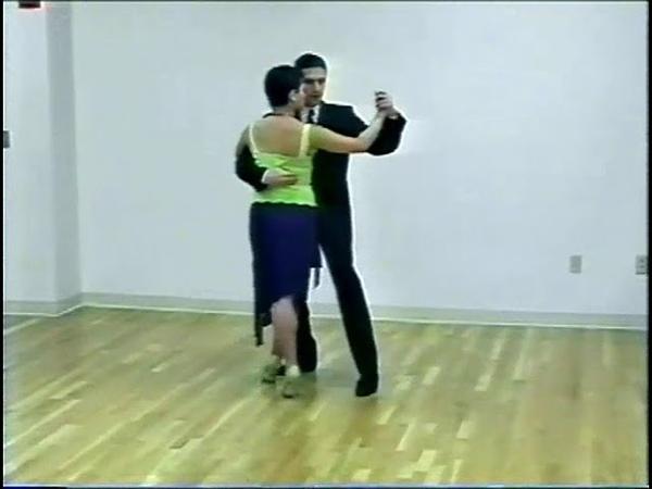 Танго-вальс. Урок 6. Хиро-кортадо со сменой направления