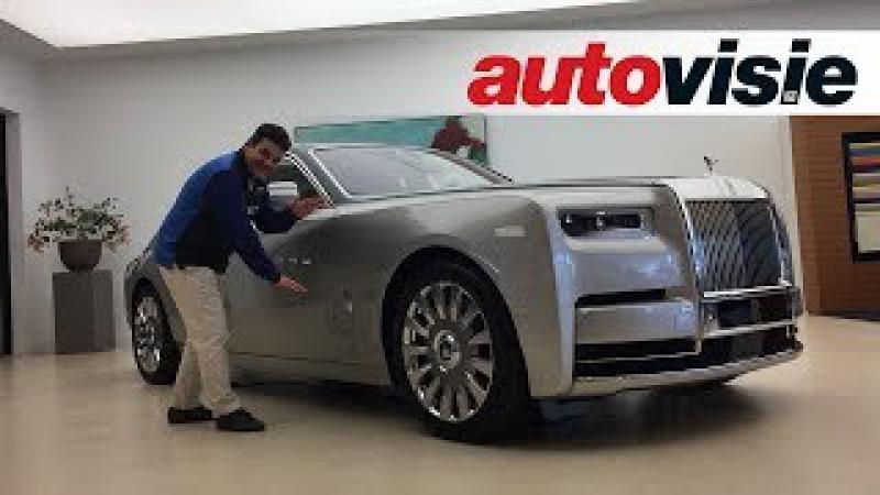 Sjoerds Weetjes 48 Dit zit er op en aan de Rolls-Royce Phantom 8
