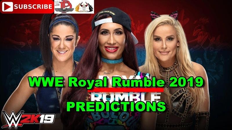 WWE Royal Rumble 2019 Women's Royal Rumble Match Predictions WWE 2K19