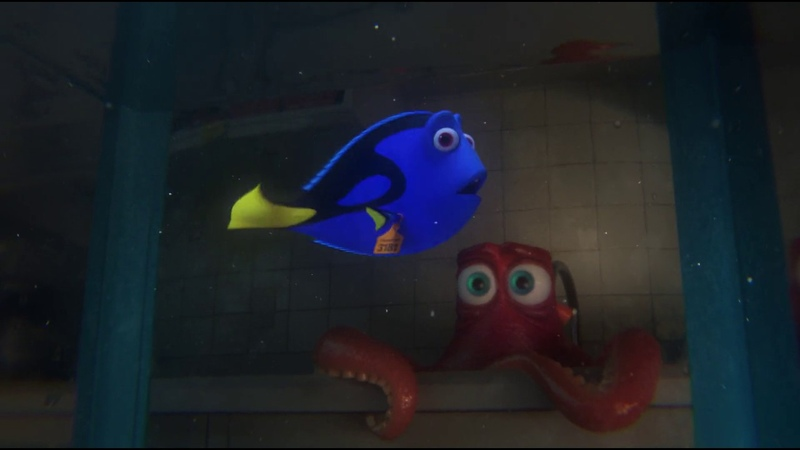 Finding Dory - Dory Hank First Encounter