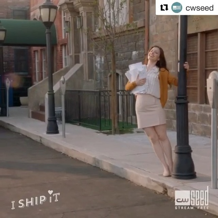 "Supergirl on Instagram ""Spend your Saturday with the musical comedy, IShipIt, streaming free on @CWSeed! Supergirl"""