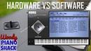Korg WAVESTATION Hardware versus VST shootout