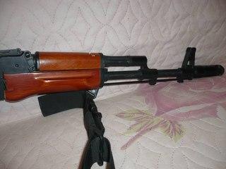 Акс-74у из дерева