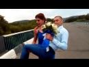 Мужики измельчали совсем! На свадьбе в г. Арсеньеве Приморского края свидетельница Даша через мост несёт на руках свидетеля Серг