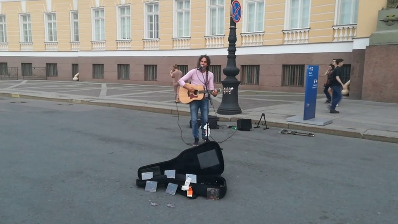 Govanni Bassano - The scientist (cover Coldplay). Saint Petersburg, 2018