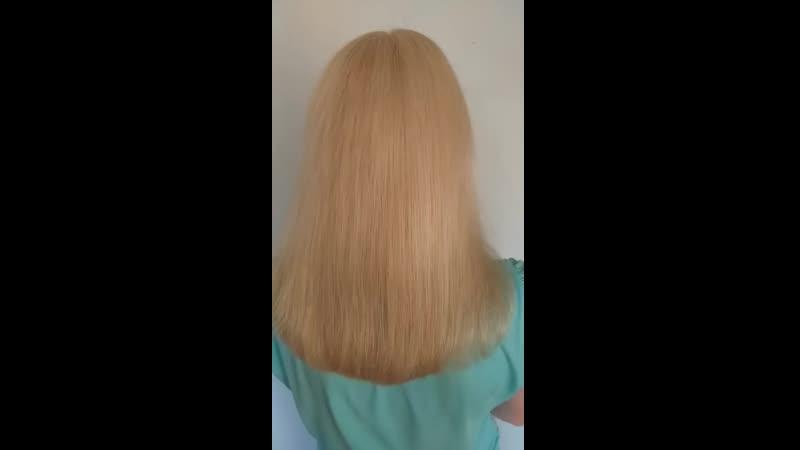 окрашивание волос после осветления