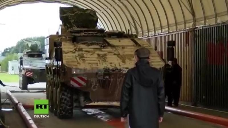 Rund 10 000 Soldaten und 8 000 Fahrzeuge Bundeswehr verschifft Truppen zur NATO Großübung