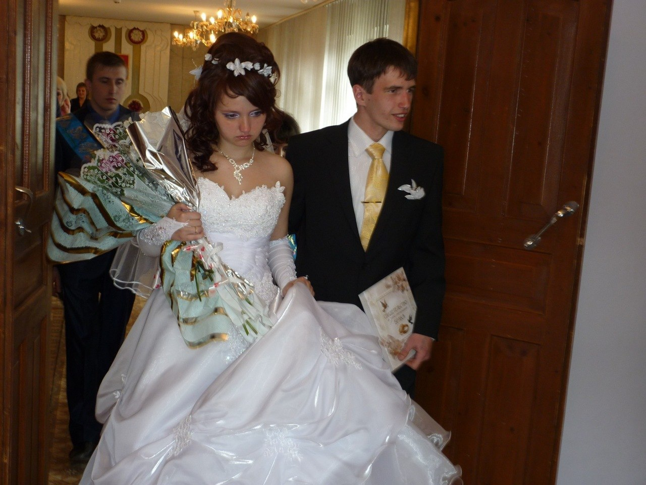 Фото невеста на свадьбе 19 фотография