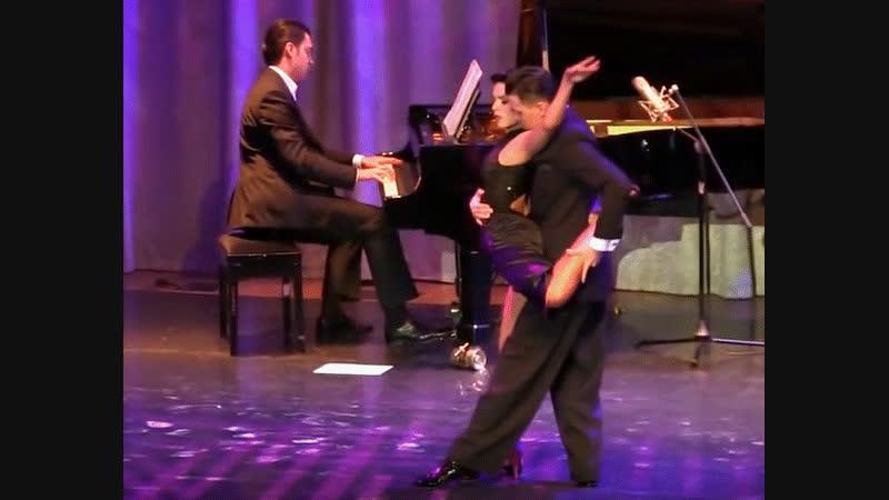 "Tango ""Patético"". Dmitry Vasin _Carla Espinosa with ""Solo Tango"" orchestra. Танго."
