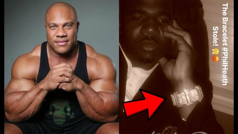 Phil Heath Accused of Stealing $100 000 Bracelet from NFL Player