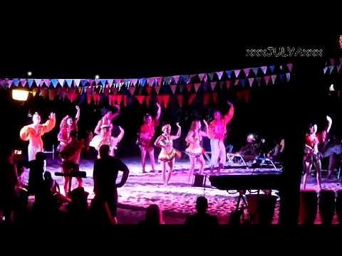 Beach party BRISAS GUARDALAVACA, Holguin, Cuba - Пляжная вечеринка БРИЗАС ГУАРДАЛАВАКА, Ольгин, Куба