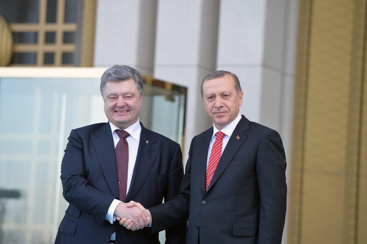 Порошенко встретился с Эрдоганом для решения важного вопроса