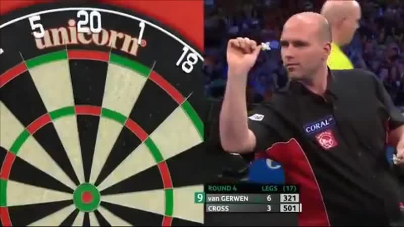 First meeting between Michael van Gerwen and Rob Cross
