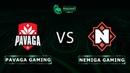 Pavaga Gaming vs Nemiga Gaming RU @Map2 Dota 2 Tug of War Radiant
